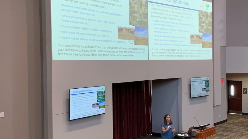 Ag Research Division co-hosts national agroecosystem research meeting